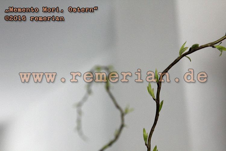 Memento Mori, Ostern